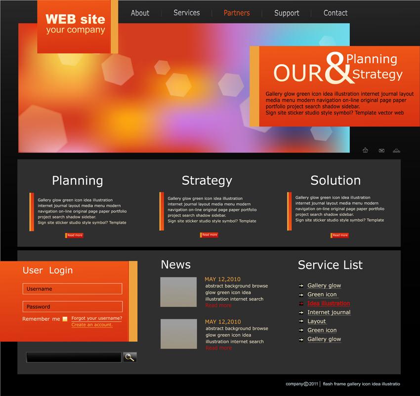 A stílusos webdesign és a színek